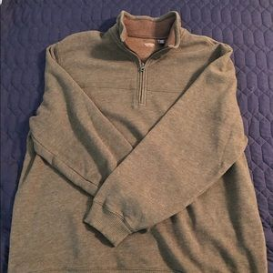 Arrow Men's Olive Quarter Zip
